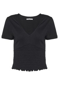 Abercrombie & Fitch - T-shirt con stampa - black - 4