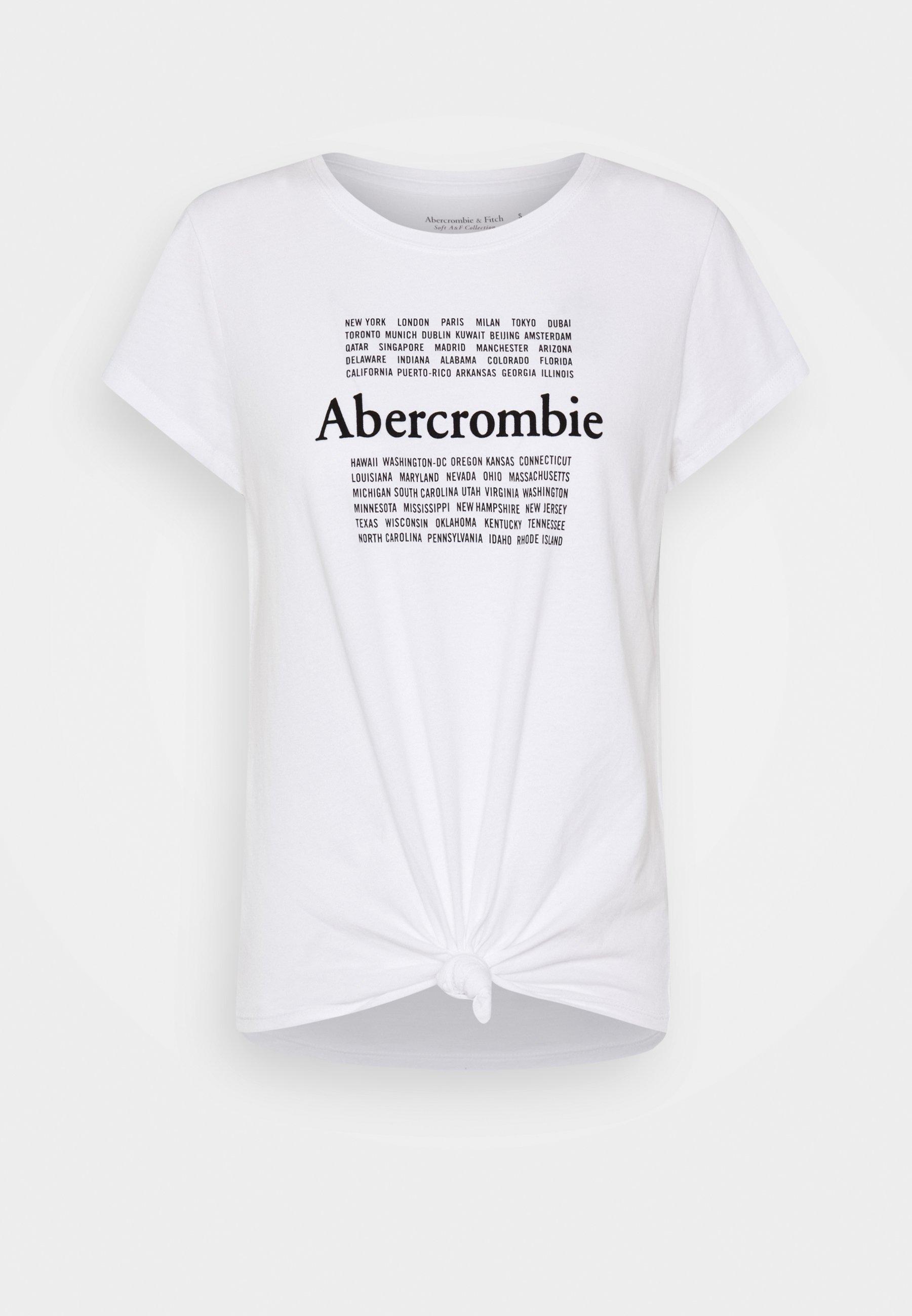 COOL GIRL LOGO TEE T shirt z nadrukiem white
