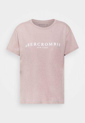 PARIS LOGO TEE  - T-shirt con stampa - pink