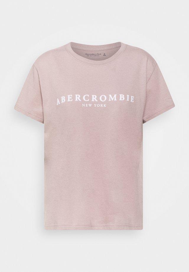 PARIS LOGO TEE  - Print T-shirt - pink