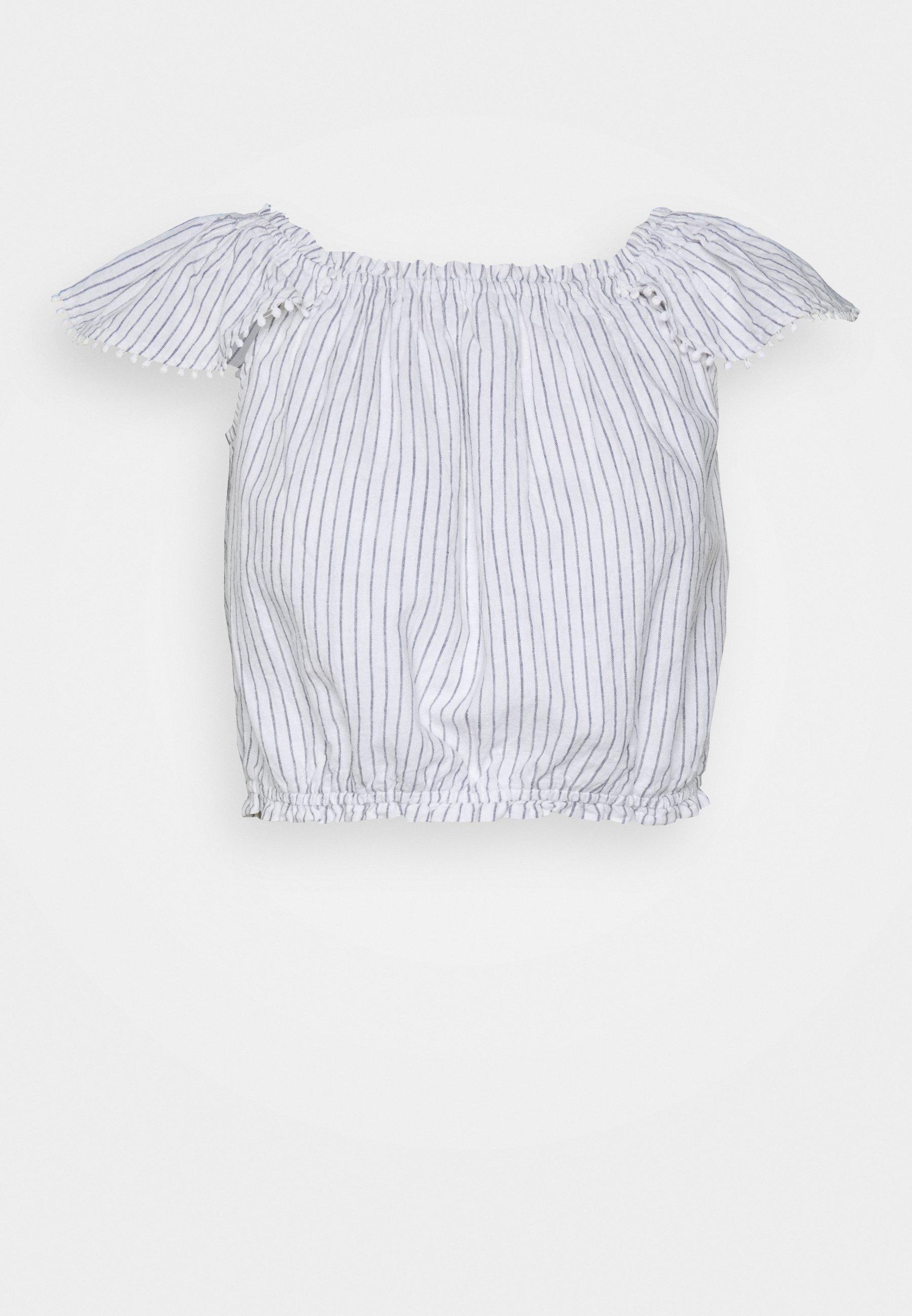 Abercrombie & Fitch Pretty Cinch - Bluser Blue/white