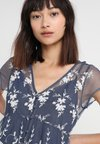 Abercrombie & Fitch - PEASANT - Bluse - navy