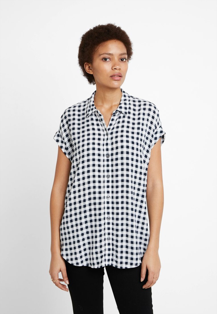 Abercrombie & Fitch - BUTTON DOWN - Hemdbluse - navy