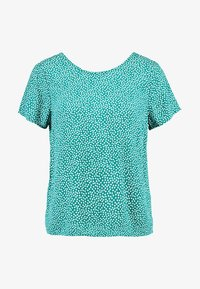 Abercrombie & Fitch - BUTTON BACK TEE - Blouse - green - 4