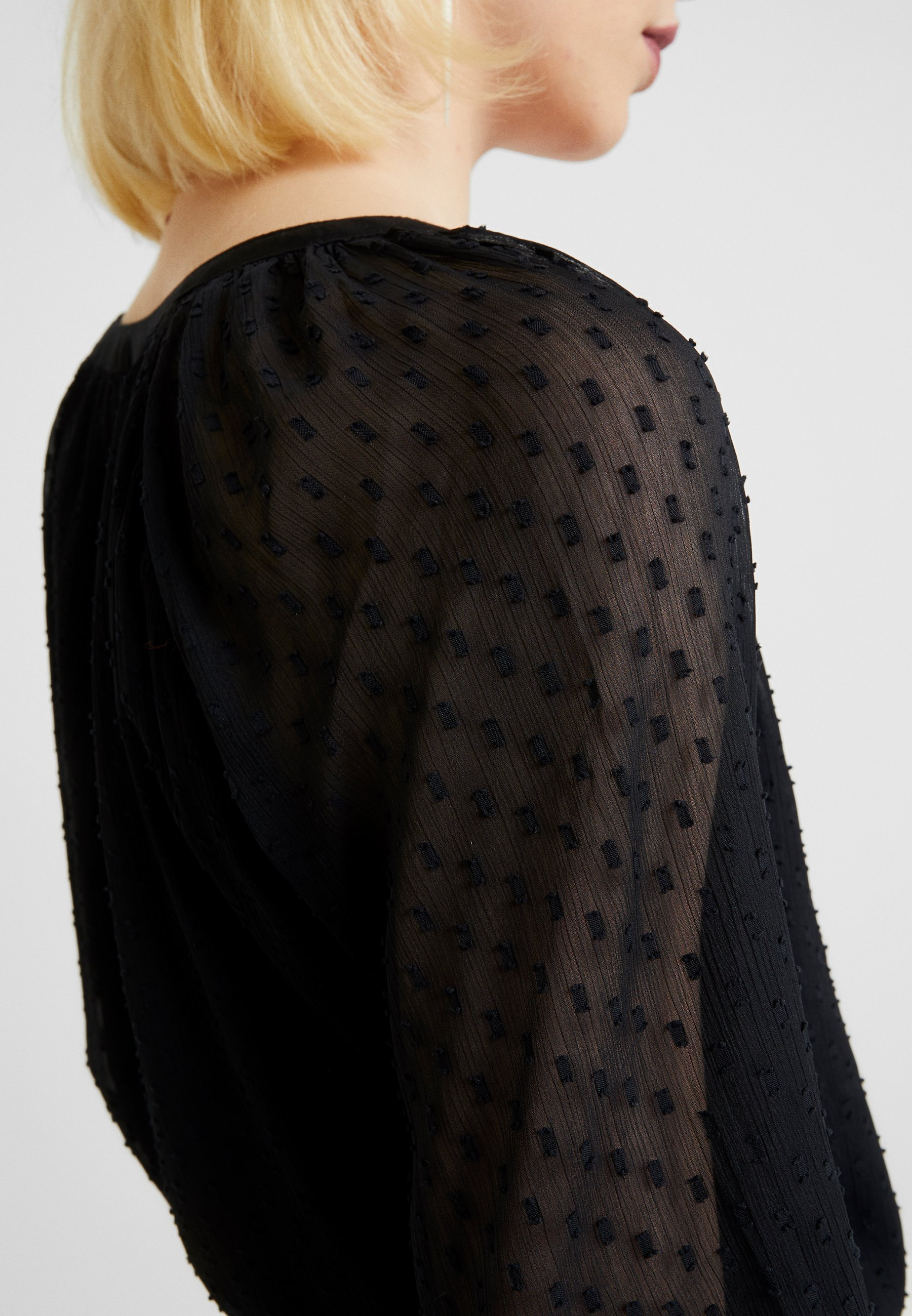 Abercrombie & Fitch PRETTY BODYSUIT - Blouse - black beauty