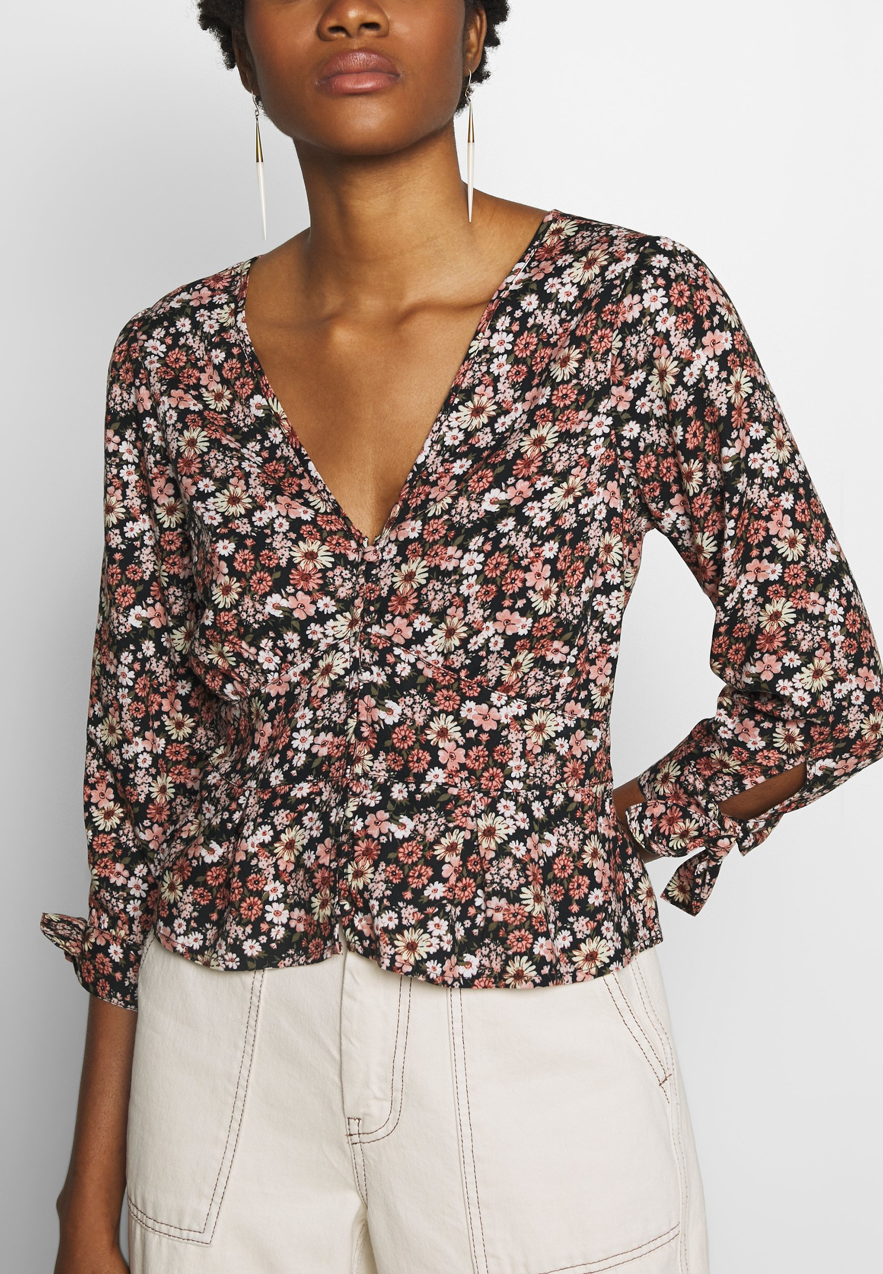 Abercrombie & Fitch Mimosa - Blouse Black