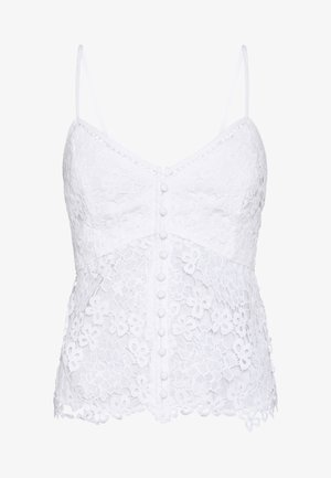 PEPLUM CAMI - Top - white