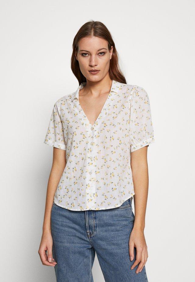 SUMMER - Button-down blouse - white lemon