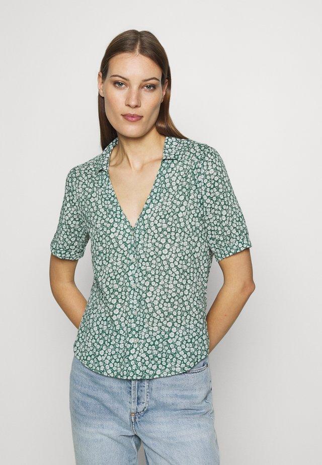SUMMER - Button-down blouse - green
