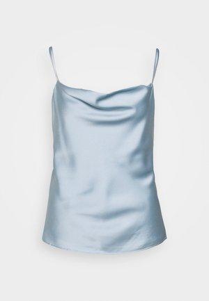 BOUDOIR CAMI - Blusa - light blue