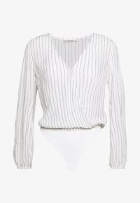 Abercrombie & Fitch - CHASE BLOUSE - Camicetta - white/yellow - 0