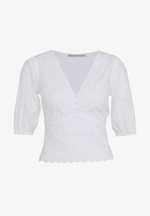 PUFF SLEEVE BLOUSE - Camicetta - white