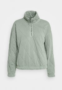 Abercrombie & Fitch - QUILTED ZIP - Giacca da mezza stagione - green - 4