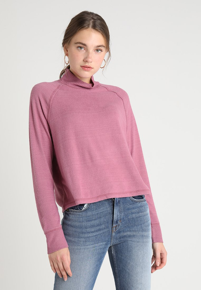Abercrombie & Fitch - LONG SLEEVE COZY  - Langarmshirt - pink