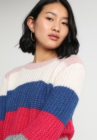 Abercrombie & Fitch - BALLOON SLEEVE SWEATER - Jumper - multi-color - 4
