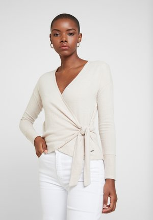 LONG SLEEVE COZY - Pullover - oatmeal