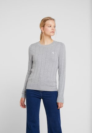 ICON CREW NECK - Pullover - grey