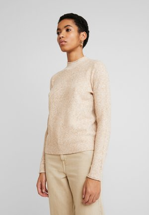 MOCKNECK - Jumper - brown