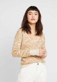 Abercrombie & Fitch - SWEATER - Jumper - neutral - 0