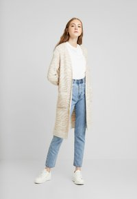 Abercrombie & Fitch - CARDIGAN - Cardigan - neutral brown - 1