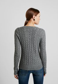 Abercrombie & Fitch - ICON CABLE  - Pullover - grey - 2