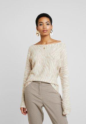 BOATNECK DOLMAN - Pullover - white