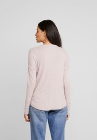 Abercrombie & Fitch - Svetr - shadow grey/light pink - 2