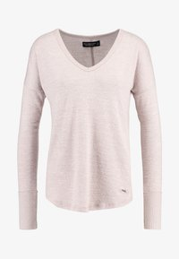 Abercrombie & Fitch - Svetr - shadow grey/light pink - 3