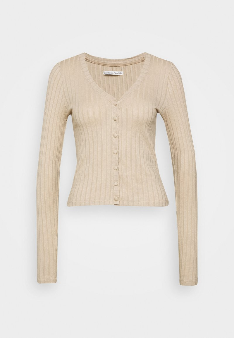 Abercrombie & Fitch - CARDI - Cardigan - brown