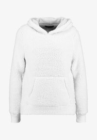 Abercrombie & Fitch - SHERPA - Hoodie - white - 4