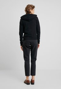 Abercrombie & Fitch - LOGO FULL ZIP - Mikina na zip - black - 2