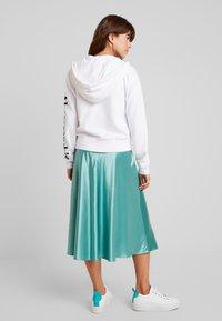 Abercrombie & Fitch - FULL ZIP LOGO - Zip-up hoodie - white - 2