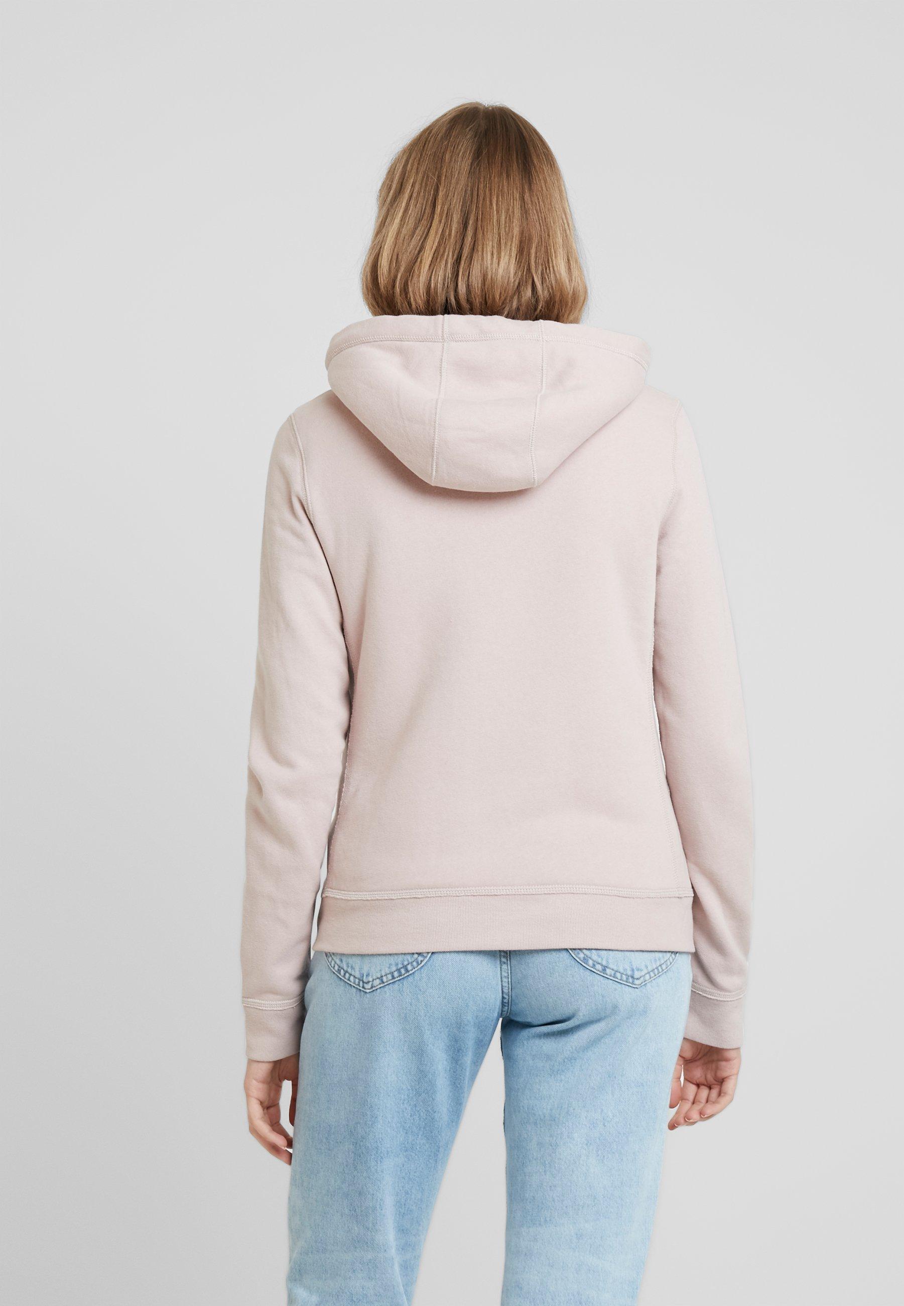 ZipVeste Lined Full Pink Abercrombieamp; Sherpa Logo En Zippée Fitch Sweat qLzGUMVpS