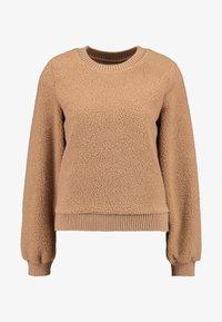 Abercrombie & Fitch - MOCK NECK CREW - Sweatshirt - brown - 4