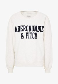 Abercrombie & Fitch - HERITAGE RELAXED CREW - Sweatshirt - grey heather - 3
