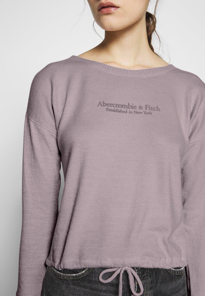 Abercrombie & Fitch Strikkegenser - pink