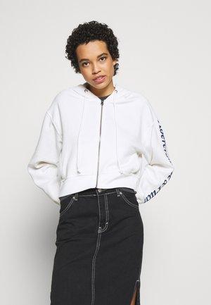 TREND LOGO - Zip-up hoodie - white