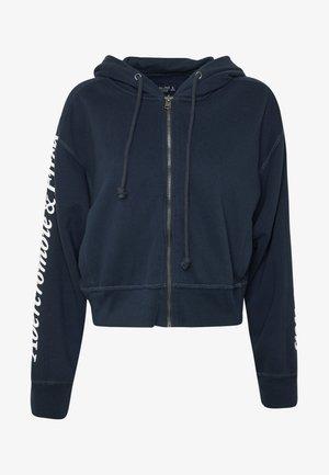 TREND LOGO - veste en sweat zippée - navy