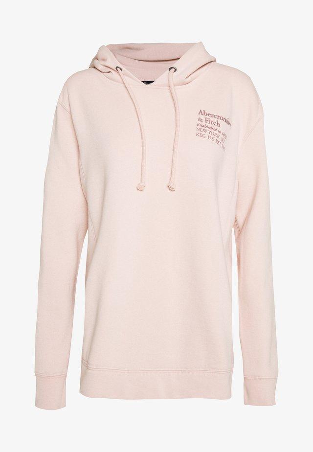 TREND LOGO POPOVER  - Bluza z kapturem - pink
