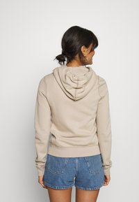 Abercrombie & Fitch - LONG LIFE FULL ZIP - Zip-up hoodie - cobblestone - 2