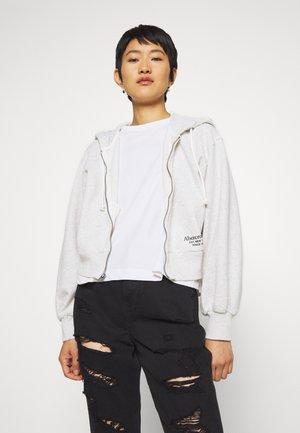 TREND LOGO - Zip-up hoodie - heather grey