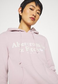 Abercrombie & Fitch - HERITAGE LOGO POPOVER - Hoodie - pink - 4