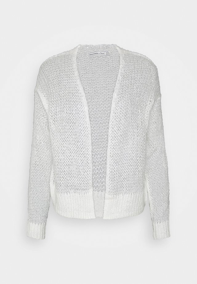 LOUISE OPEN STITCH  - Cardigan - white