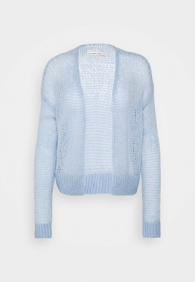 LOUISE OPEN STITCH  - Cardigan - blue