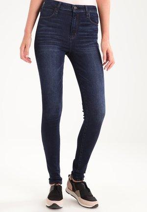 HIGH RISE SUPER  - Skinny džíny - dark