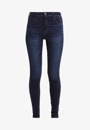 HIGH RISE SUPER  - Jeans Skinny Fit - dark