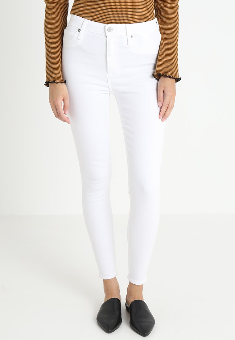 Abercrombie & Fitch - SIMONE - Jeans Skinny Fit - white