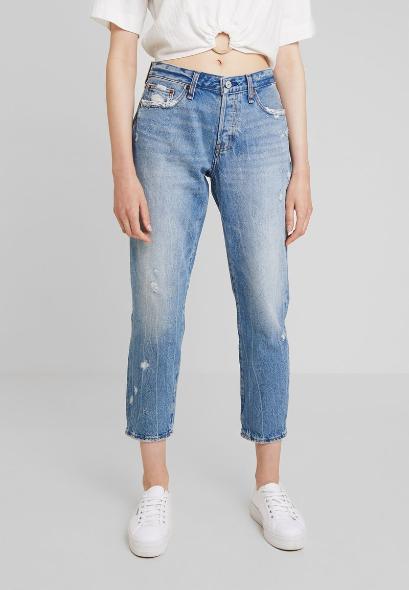 Abercrombie & Fitch - SLIM BOYFRIEND - Jeans Relaxed Fit - medium