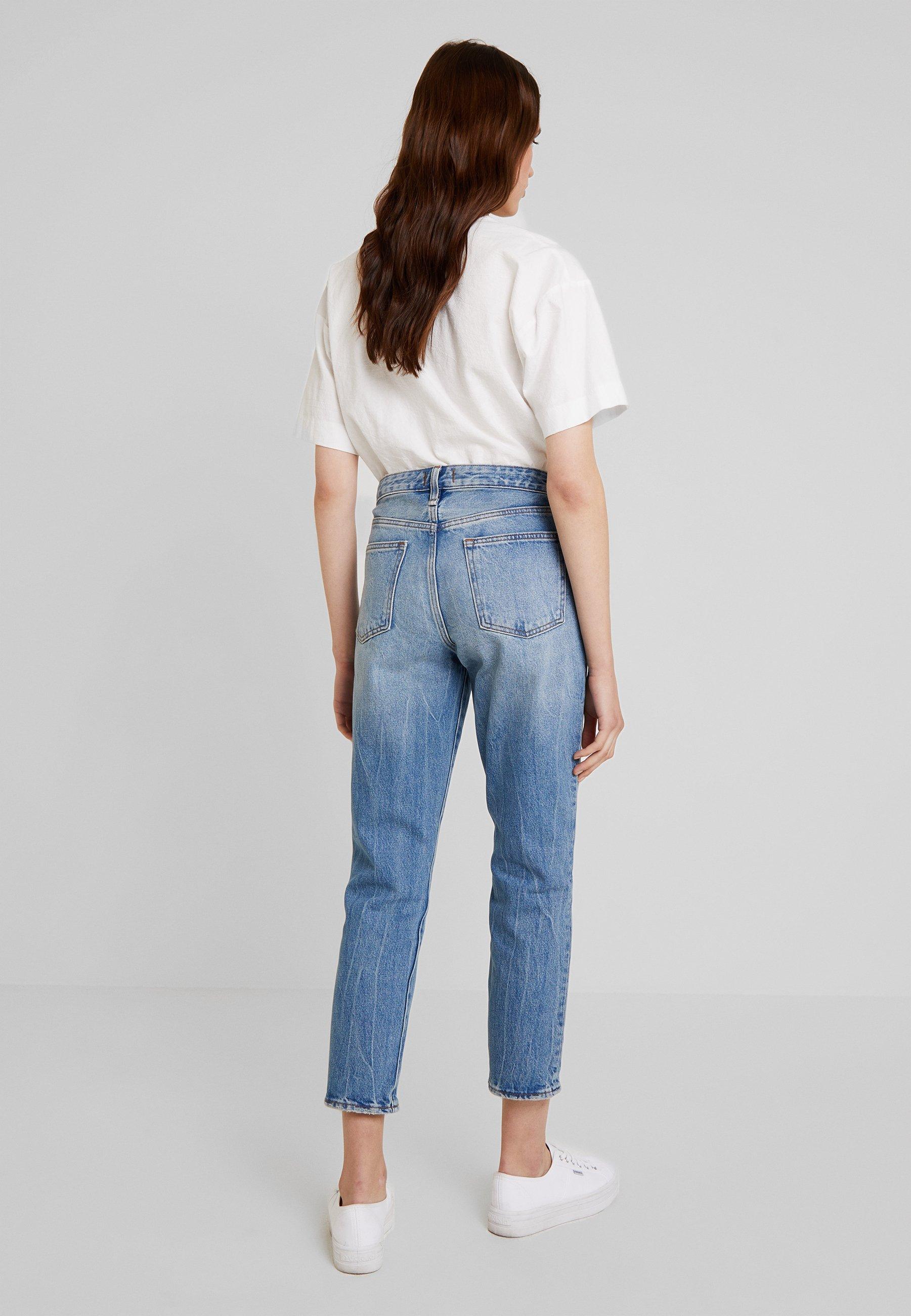 Abercrombie & Fitch SLIM BOYFRIEND - Jeans baggy medium