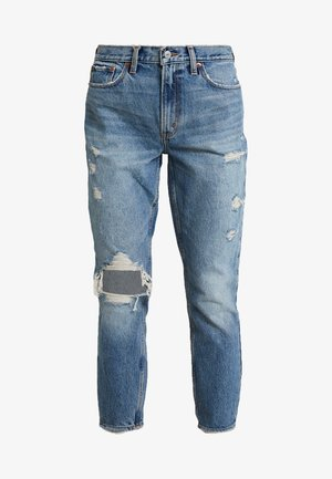 KNEE BLOWOUT MOM - Relaxed fit jeans - destroyed denim